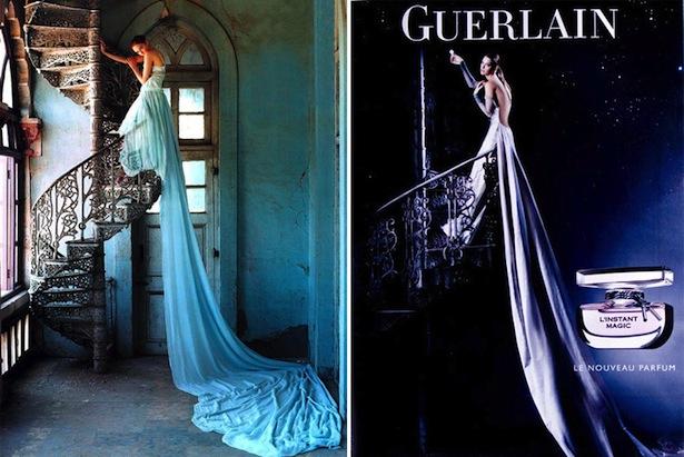 tim-walker-reklama-perfum-guerlain-linstant-magic-edytorial-vogue-lily-cole-plagiat